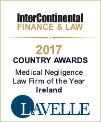 Intercontinental Medical Negligence Law Firm of the Year 2017