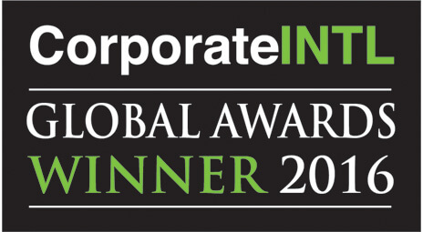 corporate INTL global awards winner 2016
