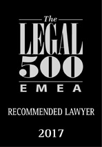 Recommended Lawyer 2017