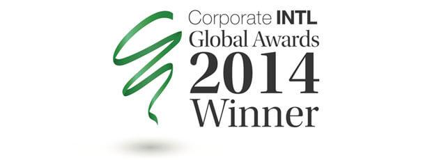 Corporate INTL Global Award Winner 2014