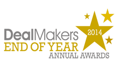 DealMakers Law Firm Award Winner 2014