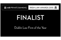 Dublin Law Firm of The Year 2015