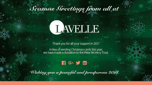 Lavelle Christmas Message 2017