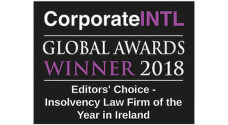 CorporateINTL Global Awards winner 2018 Insolvency Firm