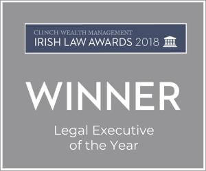 Irish Law Awards 2018 - MPUs - Legal Executive of the Year