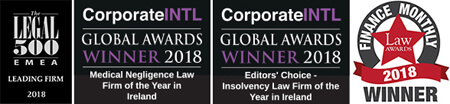 Lavelle Solicitors Awards Logos