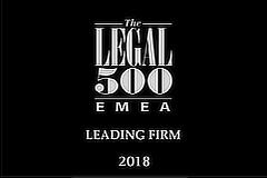 Legal500 Leading firm 2018 sidebar