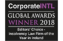 corporateINTL Awards Winner 2018 Insolvency Law Firm