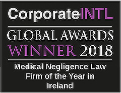 2018 Global Awards - Medical Negligence Law Firm of the Year in Ireland